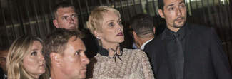 Celebrity Fight Night, da Sharon Stone a Sophia Loren parata di stelle al Colosseo
